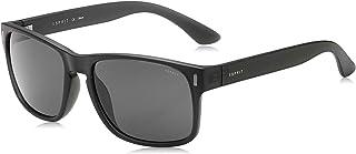 Esprit Square Men's Sunglasses - Grey - ET19497-505 - 57-18-139mm
