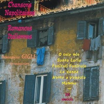 Chansons napolitaines et romances italiennes