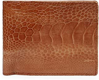 Men's Genuine Ostrich Leg Leather Wallet