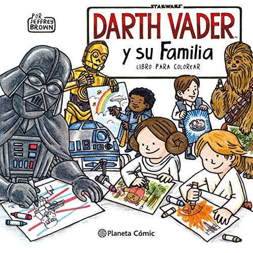 Star Wars Darth Vader y su familia Libro para colorear (Star Wars Jeffrey Brown)