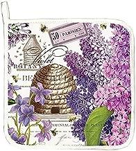 Michel Design Works Cotton Potholder, Lilac/Violets