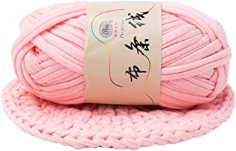 T-Shirt Yarn Fettuccini Zpagetti Style Crocheting Ribbon Yarn Knitting Yarn Ball Macrame T-Yarn Thick Fabric Yarn Jade