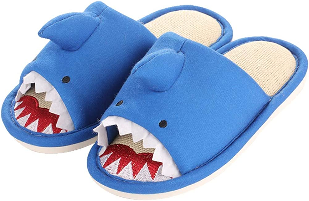 Exgingle Kids Boys Shipping included Girls Sale price Open Indoor House Toe Slippers Animals