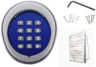 GATEXPERT Wireless Keypad Compatible with Automatic Gate Opener, Keyless for Sliding Gate Operator Panel(Opener Accesssories)