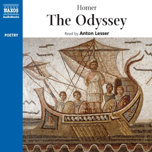 The Odyssey audiobook cover art