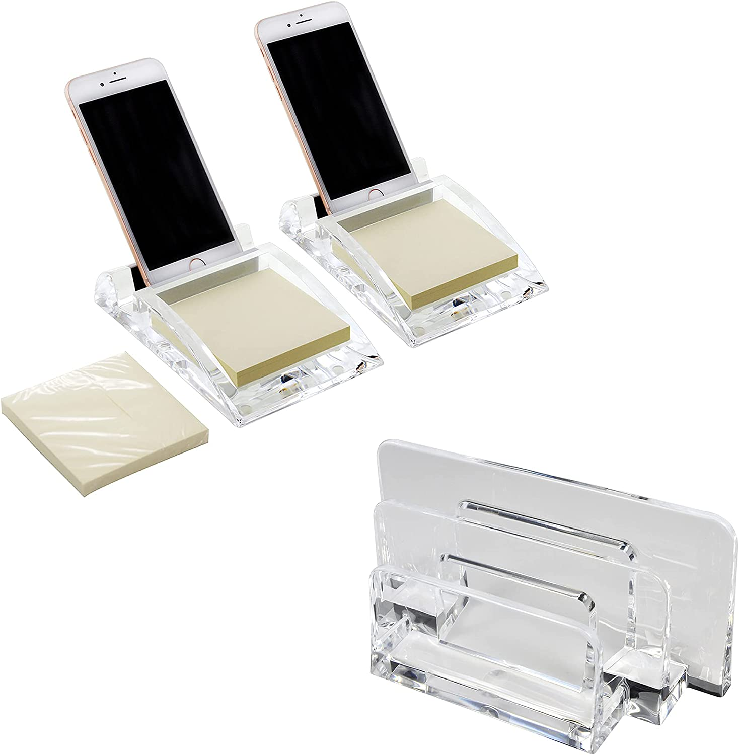 COM TOP- Clear Letter Sorter Desk Phone Manufacturer OFFicial Recommended shop Stand Acrylic Memo No