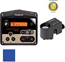Roland TM2 Trigger Module with RT-30K Acoustic Drum Trigger Bundle with Microfiber and 1 Year Everything Music Extended Warranty
