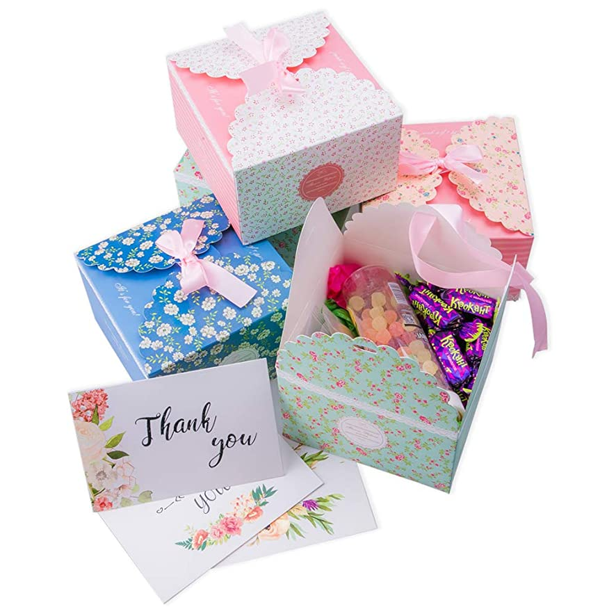 INFLORAL Set of 12 Decorative Treat Boxes(5.7
