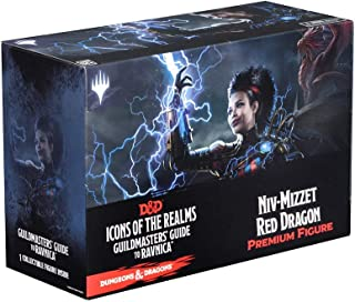 WizKids D&D Icons of The Realms: Guildmasters' Guide to Ravnica Niv-Mizzet Red Dragon Premium Figure