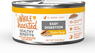 WholeHearted Easy Digestion Chicken Recipe Adult Wet Cat Food, 3 oz, Case of 24, 24 X 3 OZ