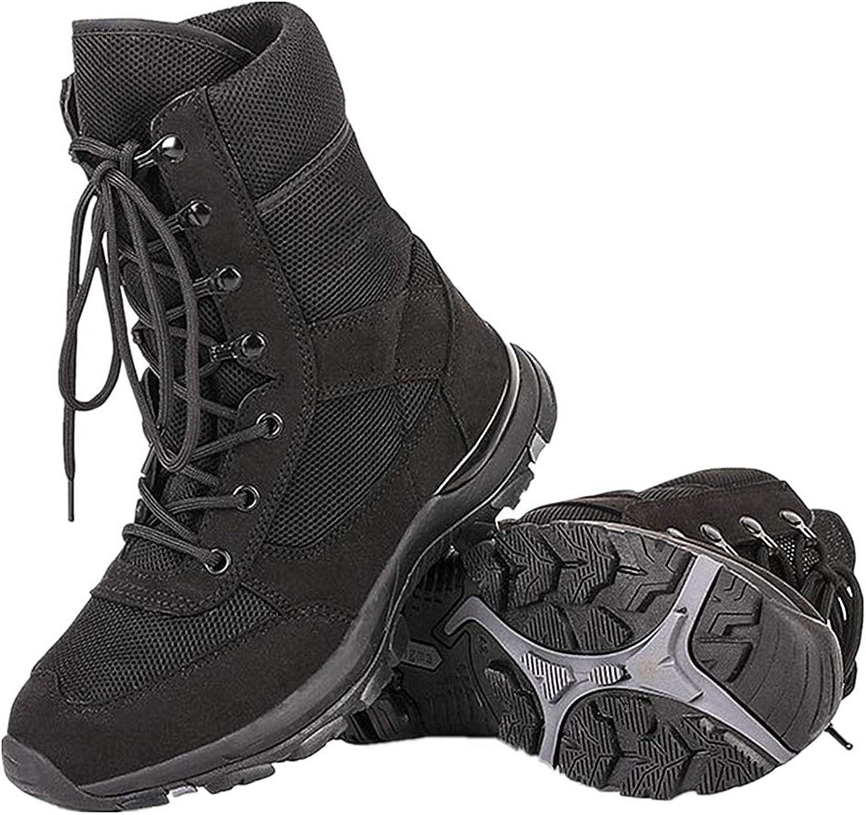 BootsMaster Military Tactical Boots for Men Comp Toe Jungle Combat Boots