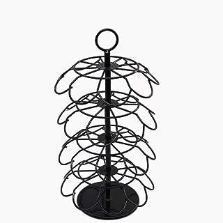 Design moderne Le support de capsule de café rotatif à assemblage à quatre couches peut stocker K-Cup/Dolce Gusto peut con...