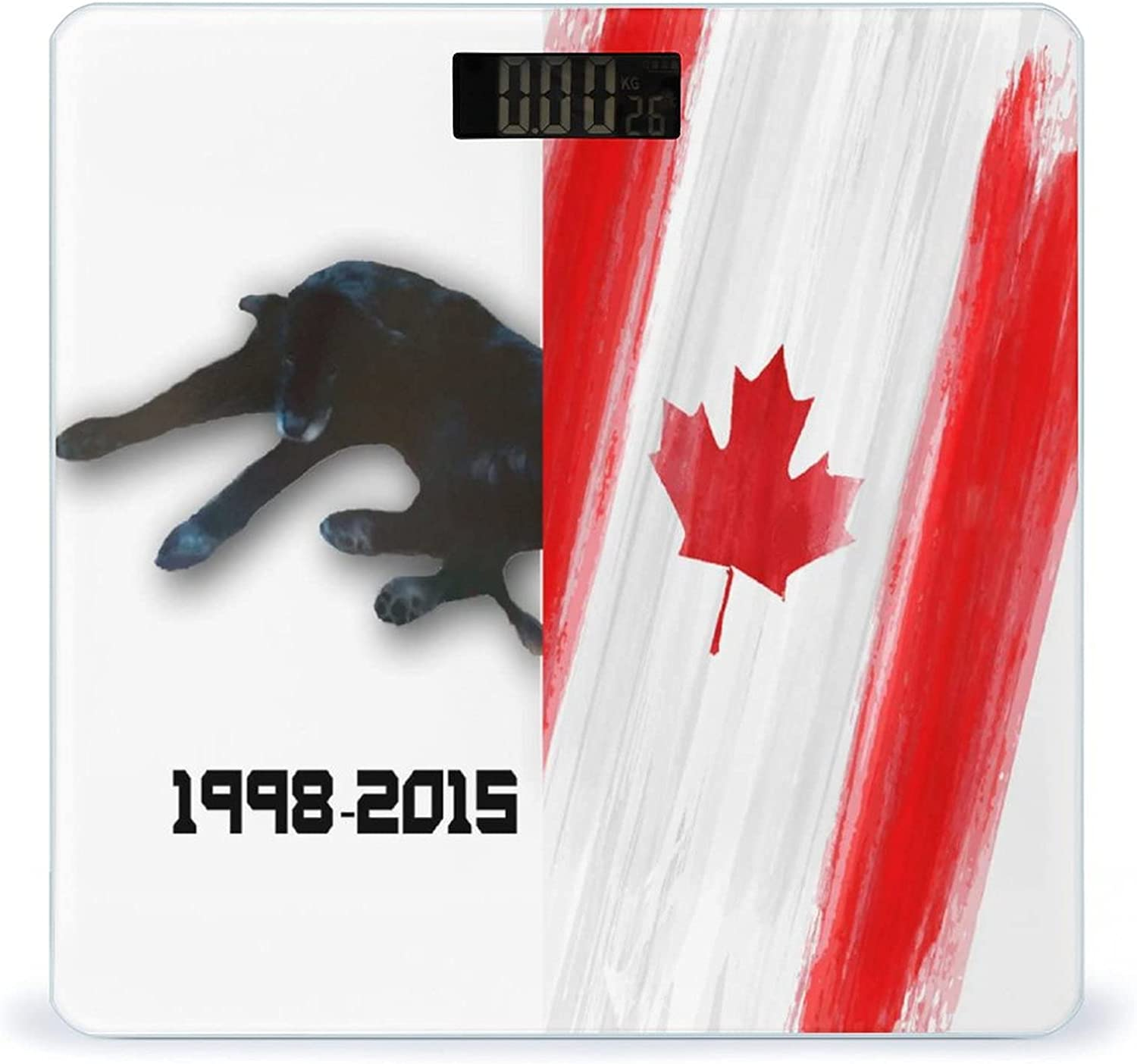 Canada Attention brand Flag Animal Phoenix Mall Dog Highly Smart Weigh Scale Accurate Fitness