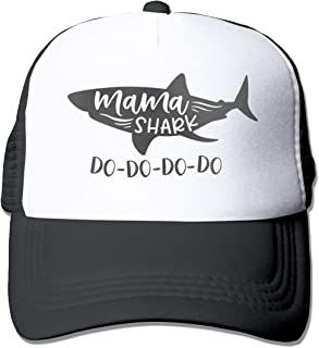 Waldeal Women's Mama Shark Trucker Caps Adjustable Summer Mesh Baseball Hat
