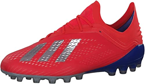 Adidas X 18.1 AG, Chaussures de Football Homme, MultiCouleure (Rojact Plamet Azufue 000), 44 2 3 EU