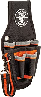 Klein Tools 5240 Tool Pouch, Tradesman Pro Maintenance Tool Pouch with 9 Pockets, Tape..