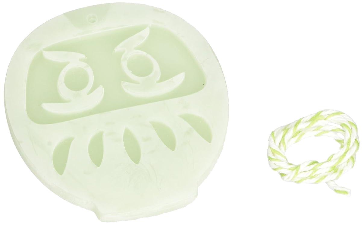 したがって割り当てる涙GRASSE TOKYO AROMATICWAXチャーム「だるま」(GR) レモングラス アロマティックワックス グラーストウキョウ