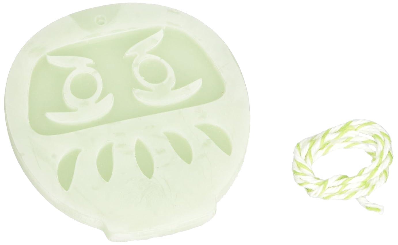 サイトラインシュート眉GRASSE TOKYO AROMATICWAXチャーム「だるま」(GR) レモングラス アロマティックワックス グラーストウキョウ