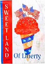 Gifted Living Sweet Land of Liberty Garden Flag