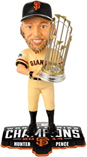 Forever Collectibles Hunter Pence 2014 World Series SF GIANTS Bobble San Francisco Giants Bobblehead