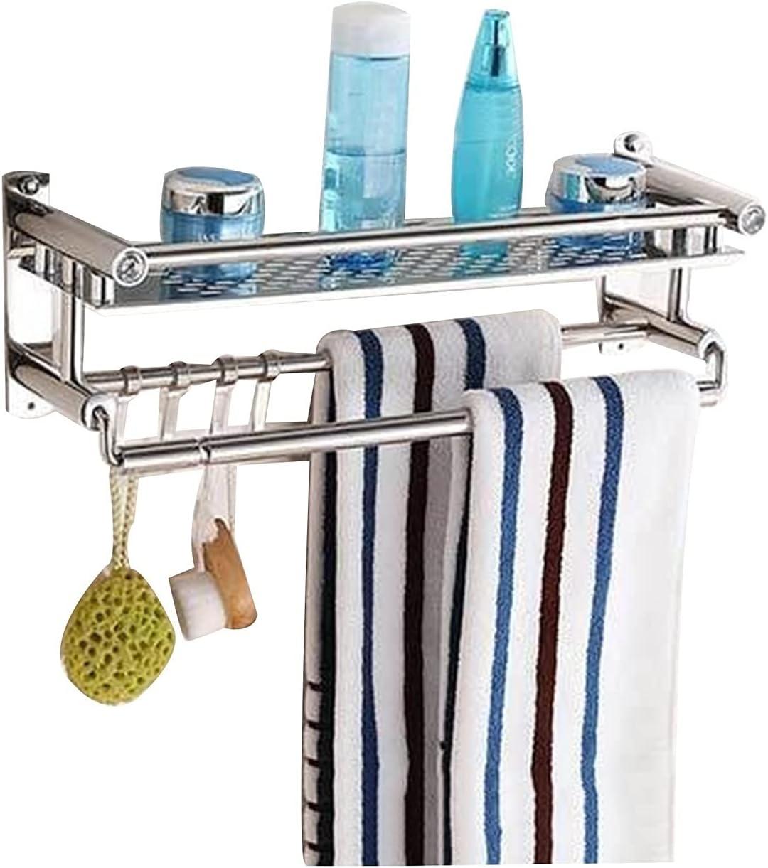 Yingbao Bathroom Stainless Steel Memphis Mall Shelf Genuine Wall-Moun Bar Towel with