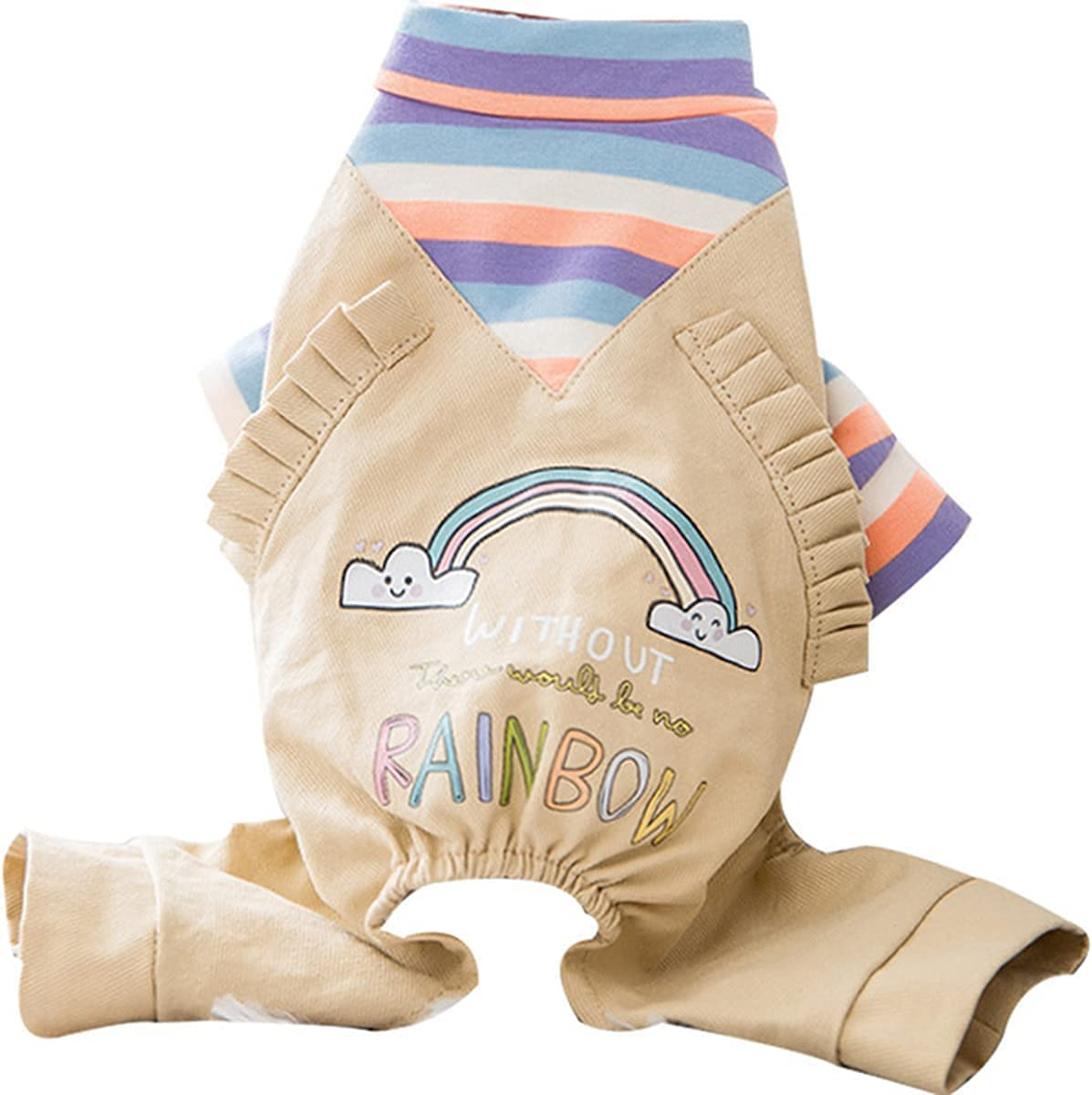 LRPXB High material Four-Legged Pet Clothes Spring It is very popular Thin Bibs f Small Teddy Dog
