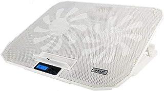 ZUIZUI Justerbart laptop-stativ stöd med fläktar USB-kylning värmefördelningsstativ hållare för bärbar dator kylplatta tys...
