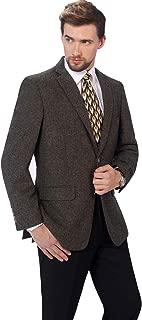 P&L Men's Premium Wool Blend Business Blazer Dress Suit Jacket