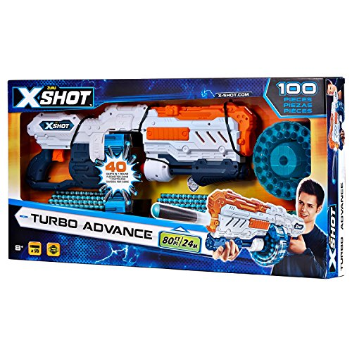 XSHOT TURBO ADVANCE (Blaster 40 coups / 96 flèches)