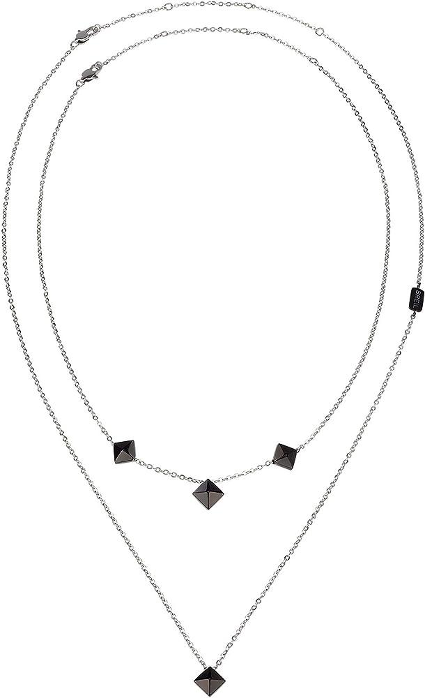 Breil collana da donna collezione rockers jewels in acciaio TJ2812