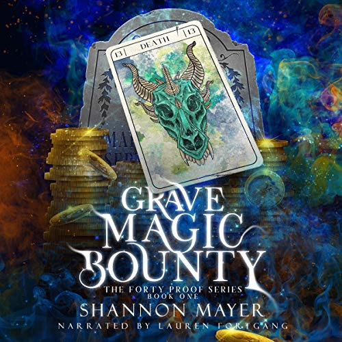 Grave Magic Bounty audiobook cover art