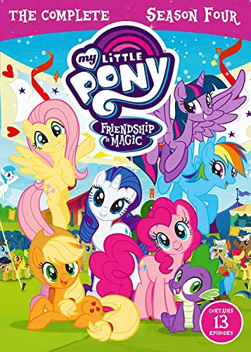 Friendship is Magic - Season 4 (4 DVDs)