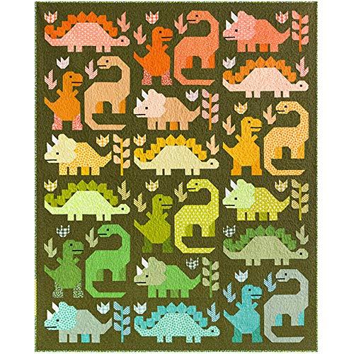 Elizabeth Hartman Dinosaur Quilt Pattern