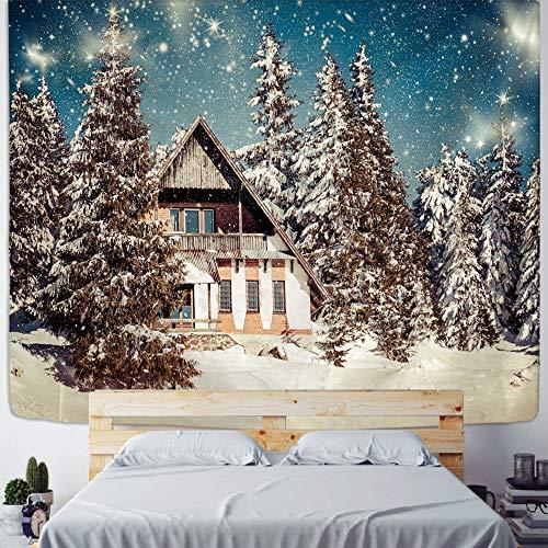 ydlcxst Tapiz Hermoso Decoración del Hogar Arte Tapiz De Pared Árbol De Navidad Hippie Bohemia Sala De Estar Dormitorio Decoración Tapiz 140X210Cm /3656
