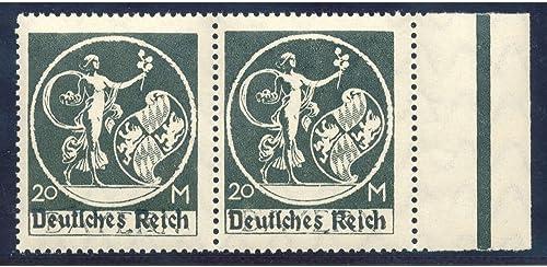 Goldhahn Deutsches Reich Nr. 138 I II postfrisch  Briefmarken für Sammler