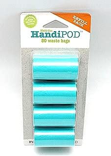 Magnet & Steel HandiPOD Dog Poop Bag and Hand Sanitizer Dispenser,