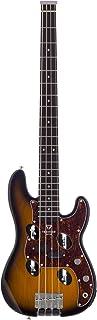 Traveler Guitar 4 String TB-4 P-Bass (Sunburst), Right, (TB4P SBG)