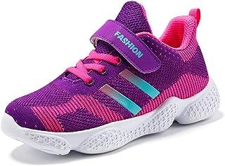 [麗人島株式會] キッズシューズキッズブレイズボーイズスポーツトレーナーシューズカジュアルベビースクールフラットレザースニーカー2019女の子スニーカー幼児の靴