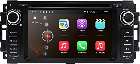Android 9.0 Car Stereo CD DVD Player - in Dash Car Radio Multimedia Player Navigation System with 6.2