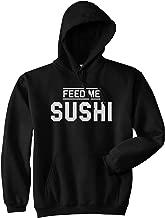 Feed Me Sushi Mens Pullover Hoodie Hoody