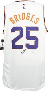 Mikal Bridges Phoenix Suns Signed White Fast Break Fanatics Basketball Jersey Fanatics