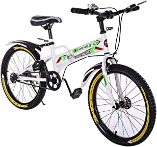 front fork Bbdsj 26-inch suspension mountain bike youth mountain bike Shimano youth bike 21 gears young cyclists bike blue