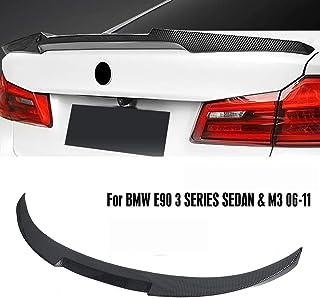 QCWY Spoiler alettone Posteriore per Bagagliaio per Auto per BMW X4 F26 2014 2015 2016 2017 in Fibra di Carbonio CF Tronco Posteriore Boot Lip Wing Spoiler
