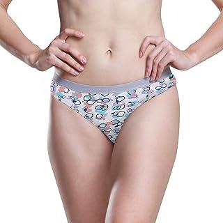 Godfery Gabriel Womens Underwear Boxer Briefs Terrazzo Seamless Pattern Ladies Hi Cut Bikini Sexy Panty