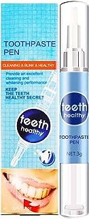 Saikogoods ホワイトニング 歯を白くする 効果的なホワイトニングペン強力なステイン消しゴムの取り外し高速漂白歯ジェルナー歯科口腔衛生用品 青