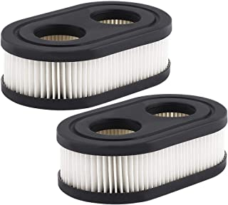 HIPA (Pack of 2 593260 798452 Air Filter Cartridge for Briggs & Stratton 550E-550EX Series 4247 5432 5432K Engine Lawnboy Lawnmower