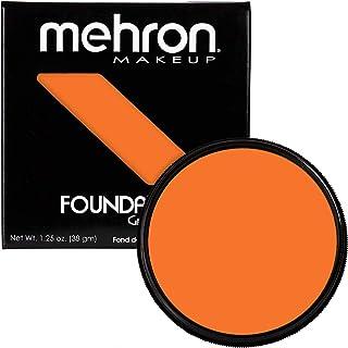 Mehron Makeup Foundation Greasepaint (1.25 oz) (ORANGE)