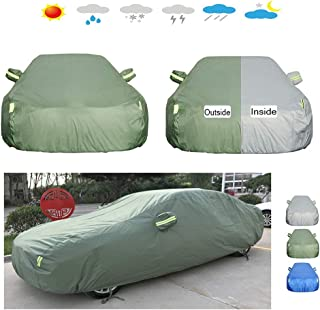 CARCOVERCJH Compatible with Car Cover Mitsubishi Lancer/Lancer Fortis/ASX/Outlander/Eclipse/Zinger/Galant,Car Protection Cover Car Tarpaulin (Color : A, Size : ASX)