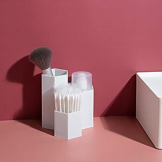 Cosmetische Opbergdoos, Make-upborstelhouder-organizer, Desktop-organizer Van 3 Slots, Voor Cosmetica-opslag En Badkamerac...