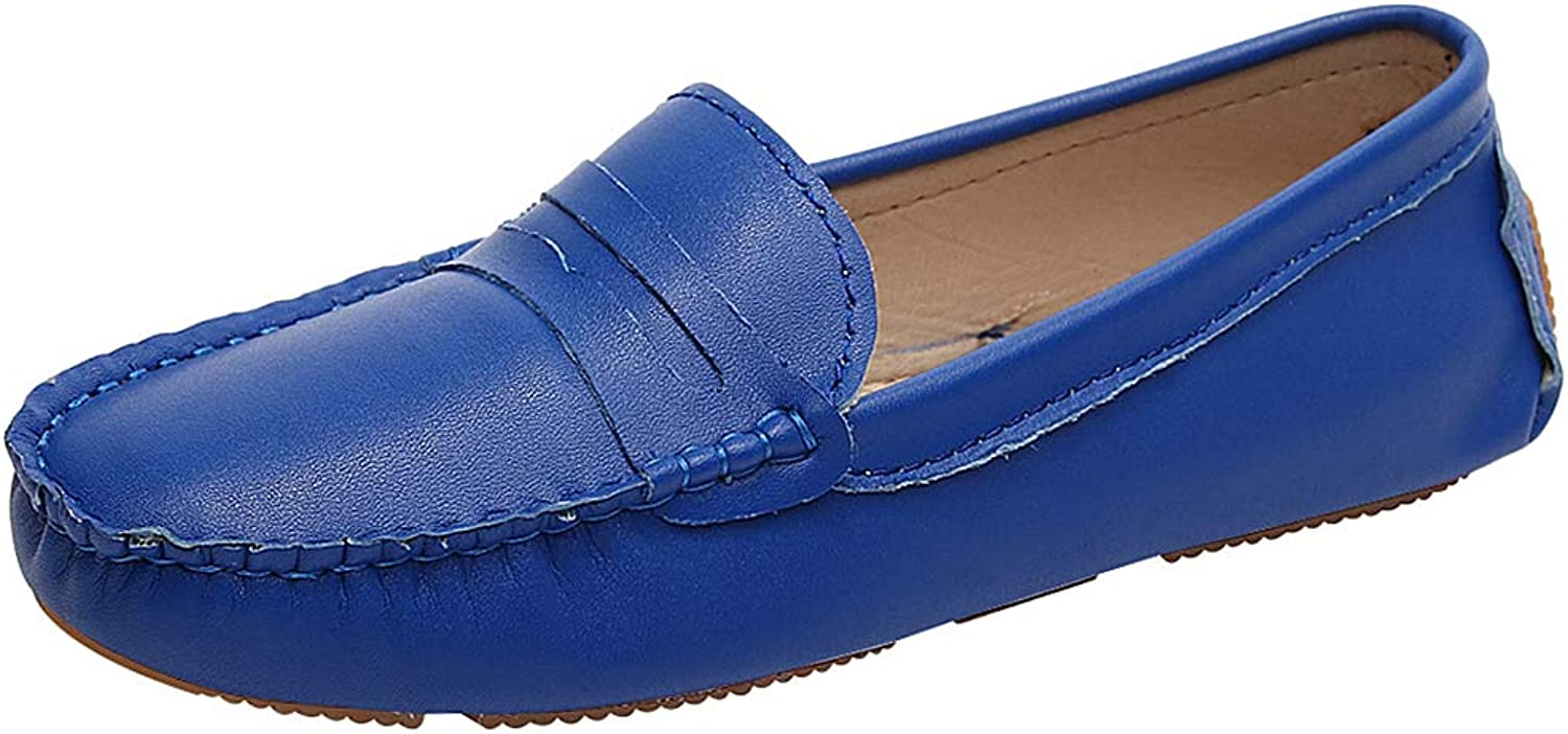 Rismart Women's Slip on Flats Driving Penny Loafer shoes